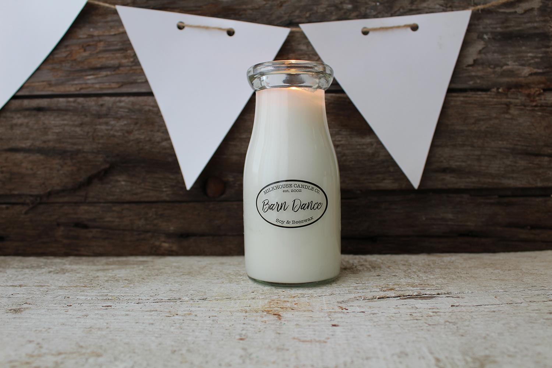 Barn Dance Milk Bottle